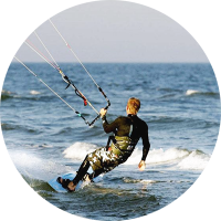 Lær at kitesurfe