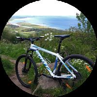 Guidet mountainbike tur