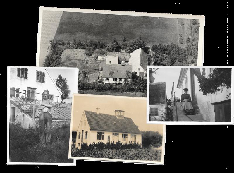 Martin Hansen og det gamle Kirsebærgården