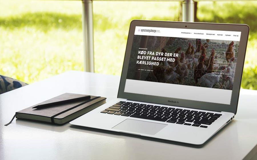 Kirsebærgården har fået ny hjemmeside