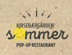 Sommer, popup, restaurant, Kirsebærgården, mad, økologi, langborde, fællesskab